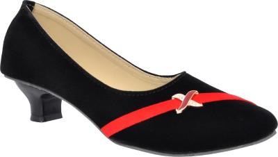Altek Women Black Heels