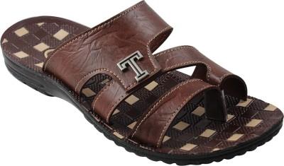 Toyto Men Brown Sandals