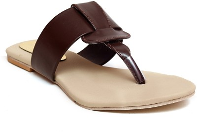 MK COLLECTIONS Women Brown Flats