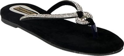 Sporch Women Black Flats