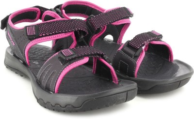Reebok ADVENTURE SERPANT Women Black, Pink Sports Sandals
