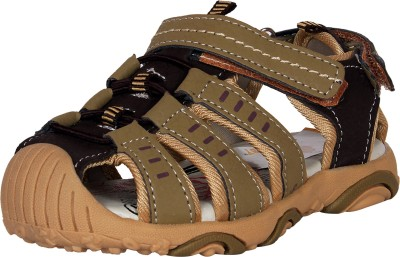 Ole Baby Boys Brown Sandals