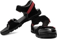 Sparx Men Black Red Sports Sandals