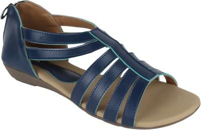 Omnesta Women Blue Flats