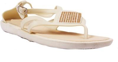 AALISHAN Women White Flats