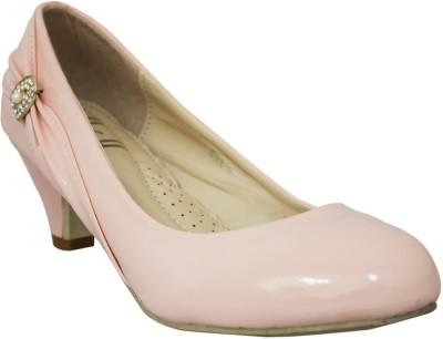Heels & Handles Women Pink Heels