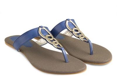 Elite15flats Women Blue Flats