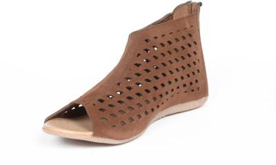 Reyes Reales Women Brown Flats