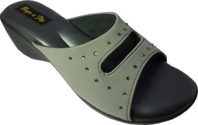Bogo N fly Girls Grey Flats