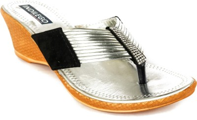 INDILEGO Women Silver Heels