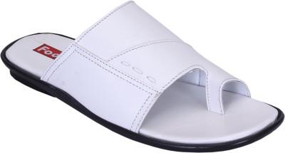 Footoes Men White Sandals