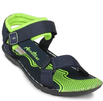 2B Collection Aerostar-01-Floater Men Green Sandals