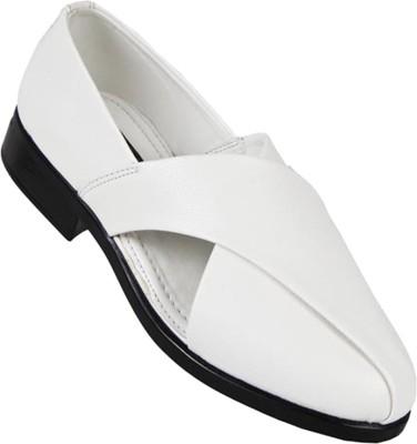 Lee Gorav Men White Sandals