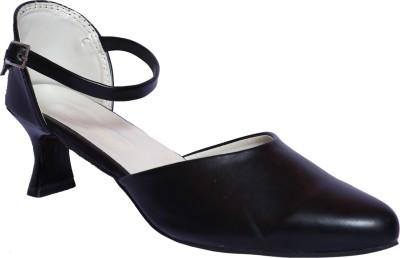 Hannah Traders Women, Girls Black Heels