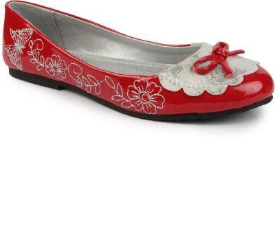 DANR Women Red Flats