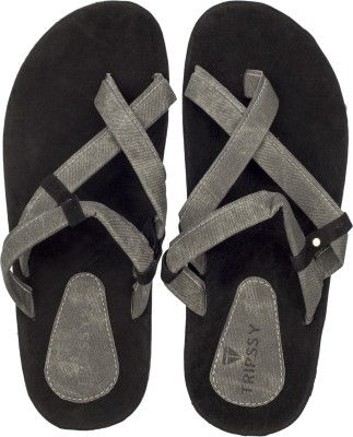 Flamboyance Men Black Sandals