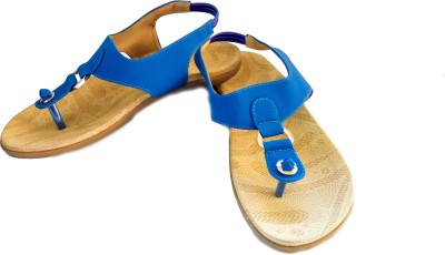 Linnisa Women Blue Flats