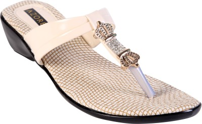 Azores Women White Wedges