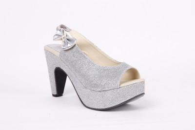 Anand Archies AA-AA12 Women Silver Heels