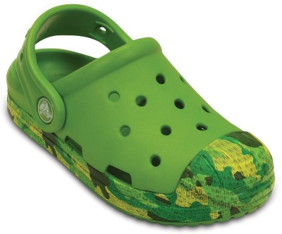 Crocs Baby Boys Green Sandals