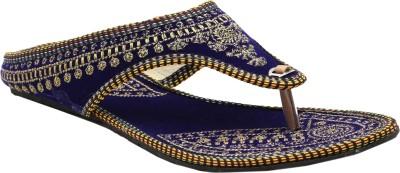Ridhi Sidhi Women, Girls Multicolor, Blue Flats