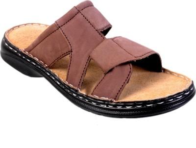 FAD Men Maroon Sandals