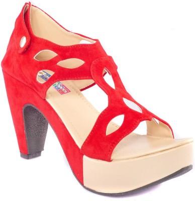 Dream Selection Women Red Heels