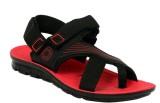 Xpert Men Black Sandals