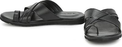 Ruosh Men Black Sandals