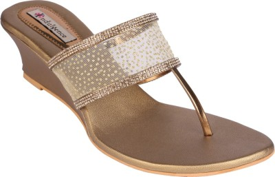 Indulgence Diamonds Women Natural Wedges