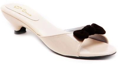 Lyc Women Beige Heels