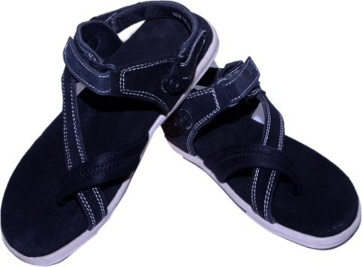 TOPPER SAHEB Men Black Sandals