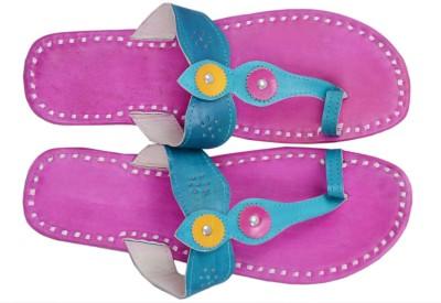 Paavdi Women Pink Flats