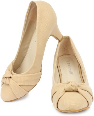Marie Soft Women Brown Heels