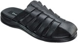 Dziner Men Black Sandals