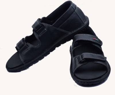 Shearwater Men Black Sandals