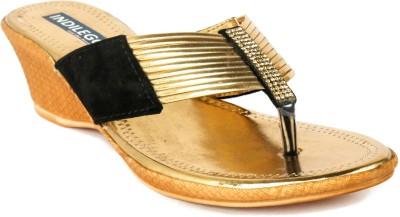 INDILEGO Women Gold Heels