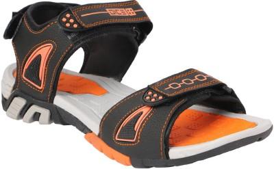 Dice Men Black, Orange Sandals