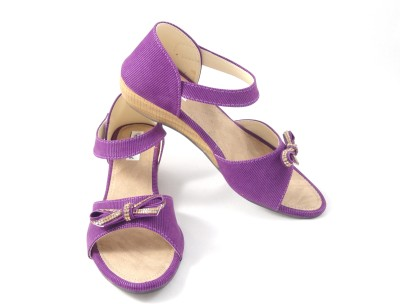 Ethnoware Women Purple Wedges