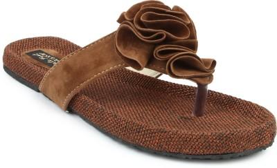 Cute Feet Women Brown Flats