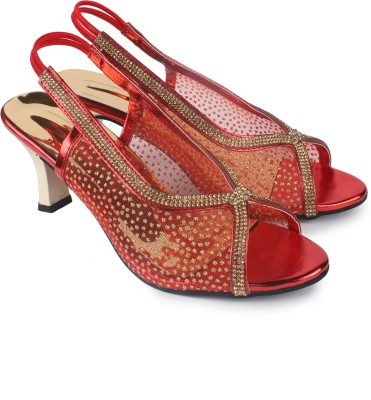 Anaya Women Red Heels