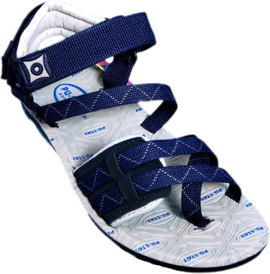 KREDO SPORTS Men Grey Sandals