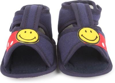 Instabuyz Baby Girls, Baby Boys Navy Sandals