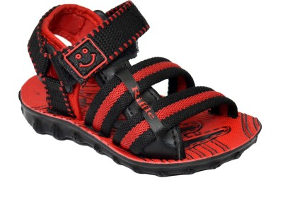 steelwood Boys Red Sandals