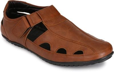 Afrojack Men Brown Sandals