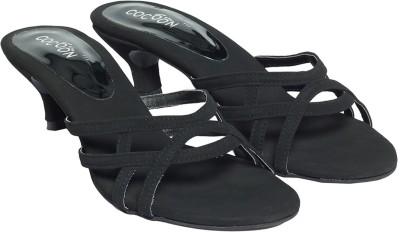 Cocoon Women Black Heels