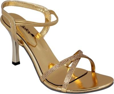 Bellafoz Women Gold Heels