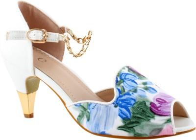 Totes Gallore Women Silver Heels