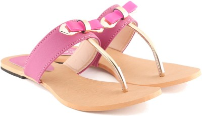 Cenizas Flat Tie Women Pink Flats