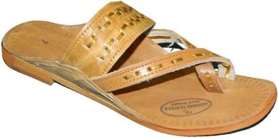 Kolapuri Center Gandhi Men Tan Sandals